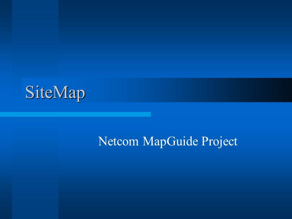 SiteMap Netcom MapGuide Project