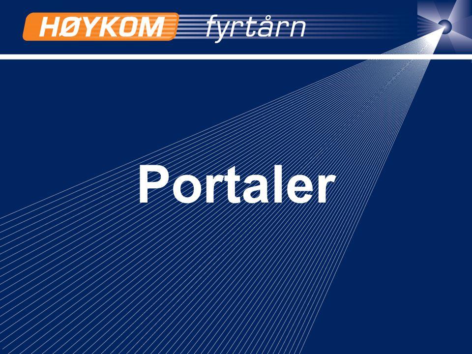 2 Fra 'ord og definisjoner' portal –inngangssted til Internettet, som behandler mange emner og hvor de funksjoner man jevnlig benytter, er samlet.