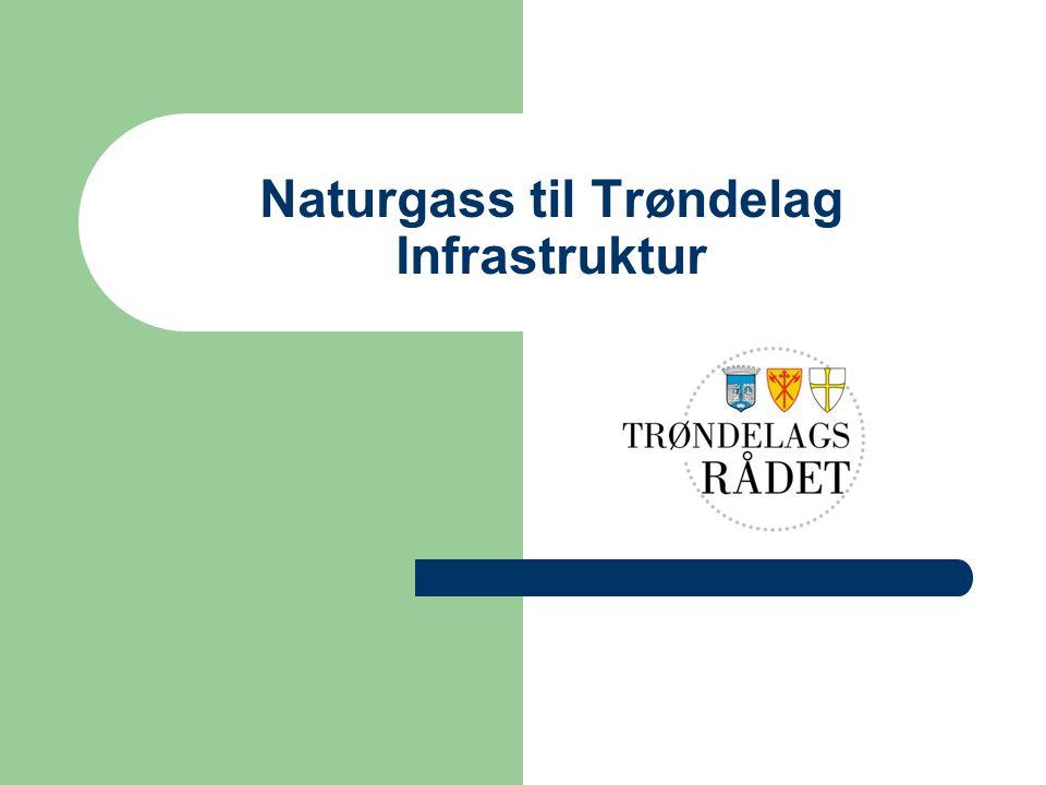 Naturgass til Trøndelag Infrastruktur