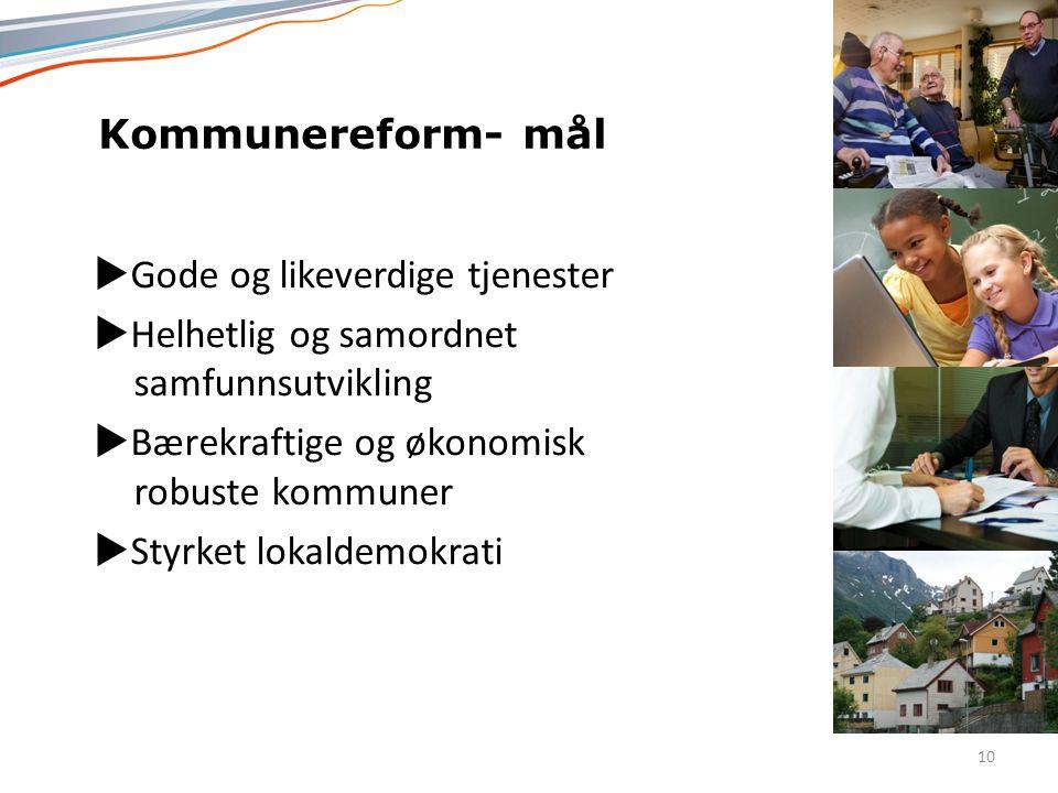 Norsk mal: Tekst med kulepunkter – 4 vertikale bilder Tips bilde: For best oppløsning anbefales jpg og png-format.  Gode og likeverdige tjenester  H