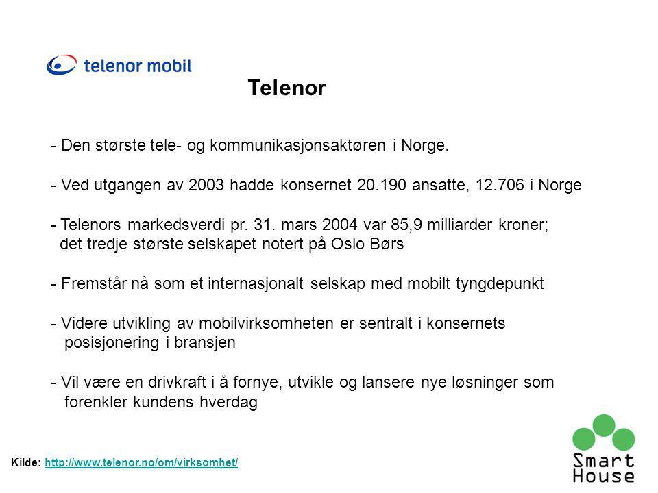 - Den største tele- og kommunikasjonsaktøren i Norge.