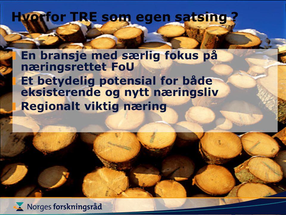 En bransje med særlig fokus på næringsrettet FoU Et betydelig potensial for både eksisterende og nytt næringsliv Regionalt viktig næring