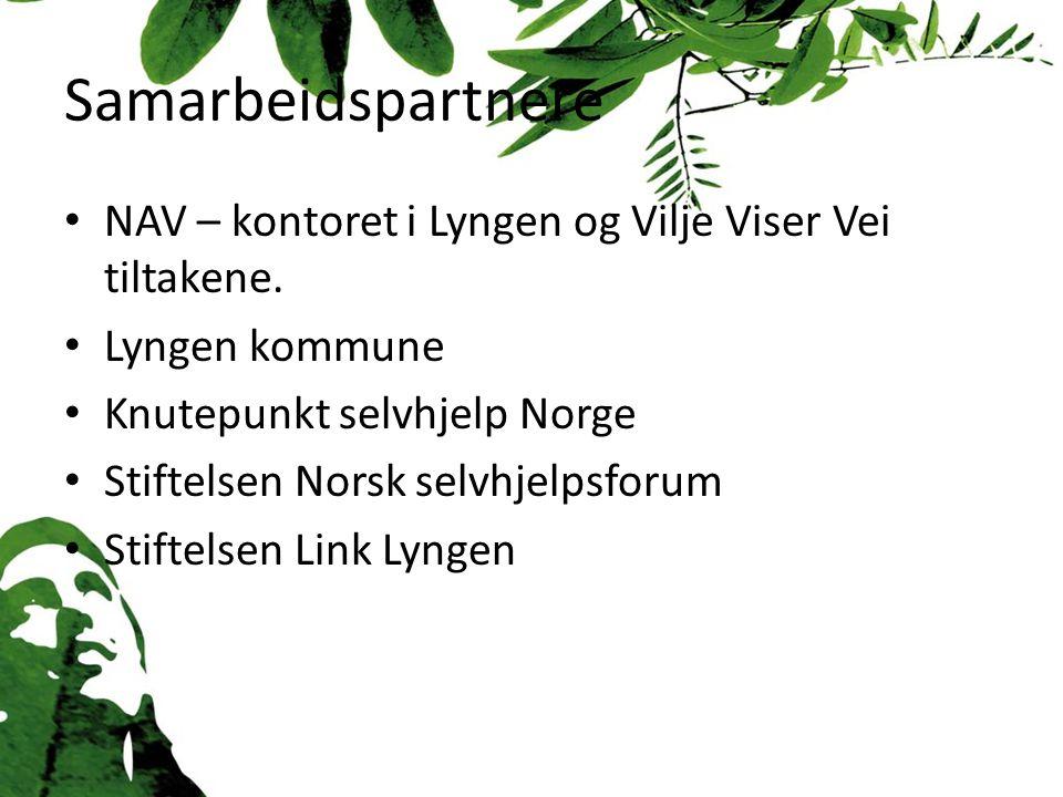 Samarbeidspartnere NAV – kontoret i Lyngen og Vilje Viser Vei tiltakene.