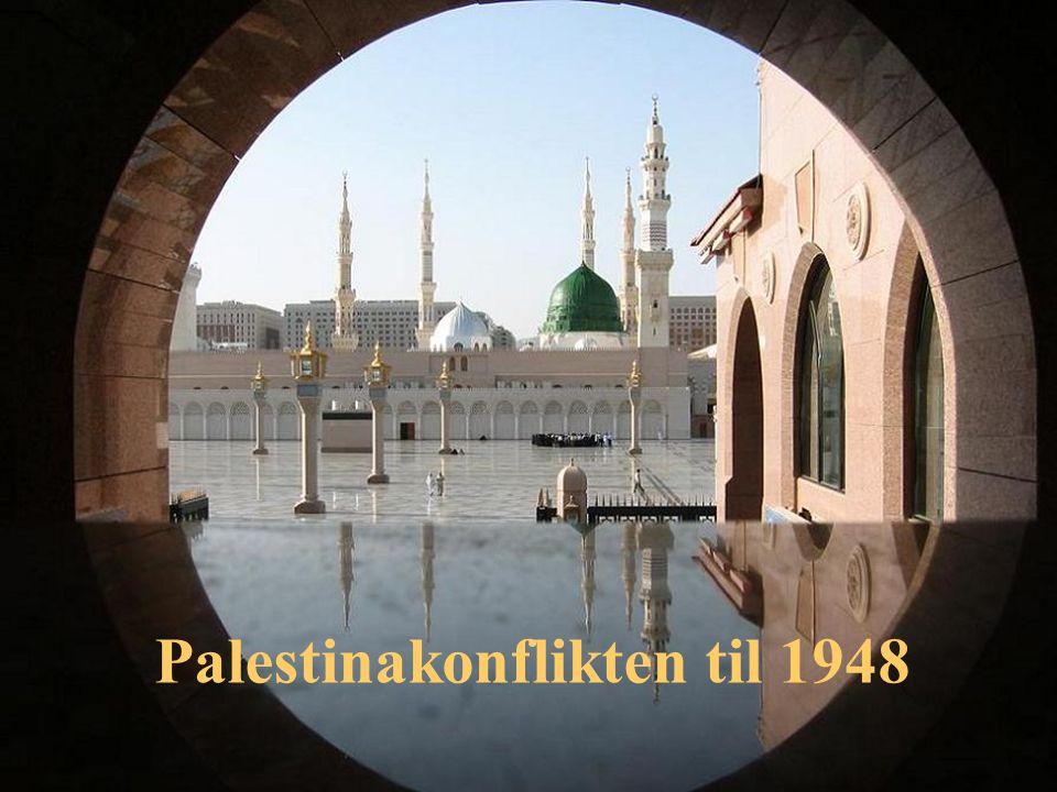 Palestinakonflikten til 1948