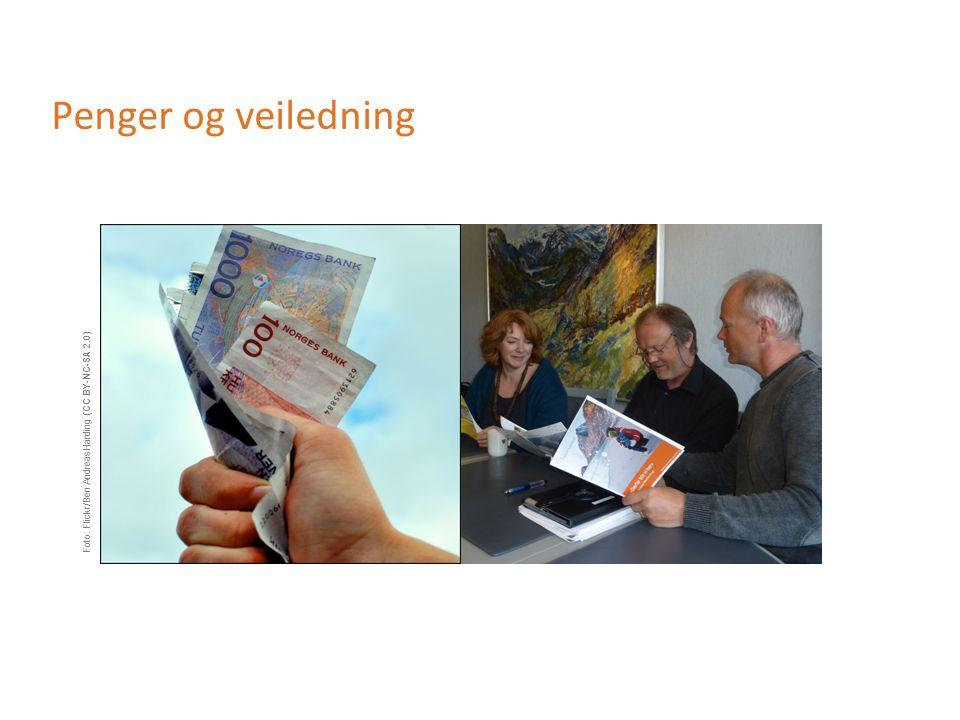 Penger og veiledning Foto: Flickr/Ben AndreasHarding (CC BY-NC-SA 2.0)
