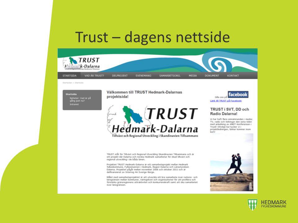 Trust – dagens nettside