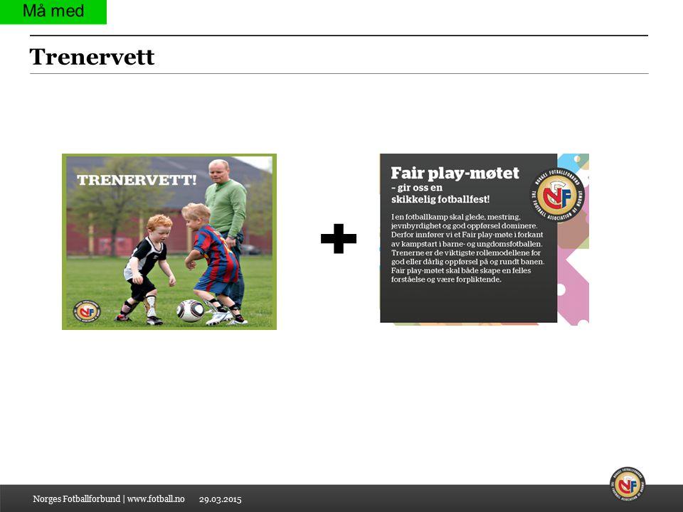 29.03.2015 Trenervett Norges Fotballforbund | www.fotball.no