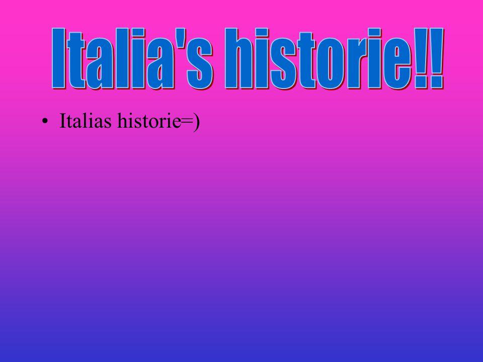 Italias historie=)