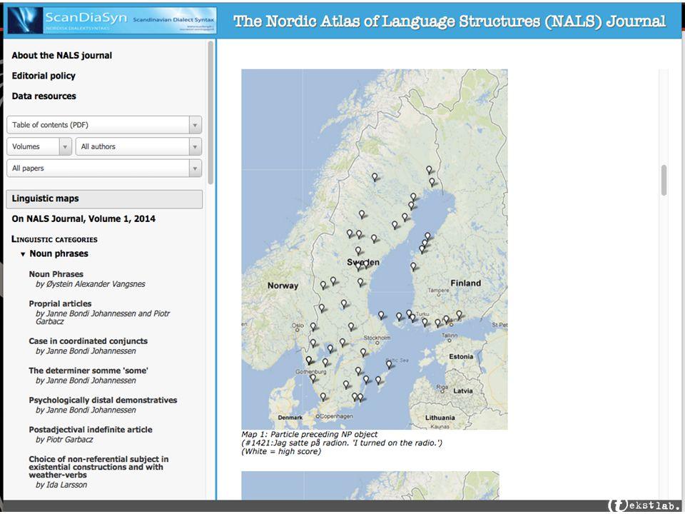 Google Maps Fordeler: –Enkelt og velkjent for brukerne –Enkelt å bruke for programmerere –Gratis (opp til 25 000 kartvisninger per dag) –Mye funksjonalitet, som blant annet gir fleksible muligheter for tilpasning av kartvisningen –Bruksbetingelsene tillater gjengivelse av kart i skriftlige publikasjoner for akademiske formål