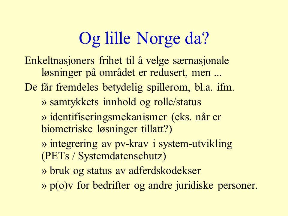 Og lille Norge da.