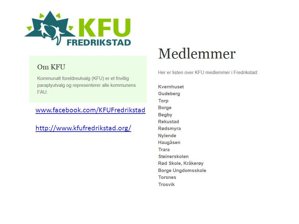 www.facebook.com/KFUFredrikstad http://www.kfufredrikstad.org/