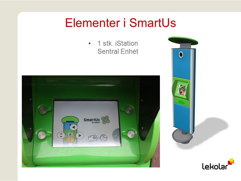 Elementer i SmartUs 1 stk. iStation Sentral Enhet