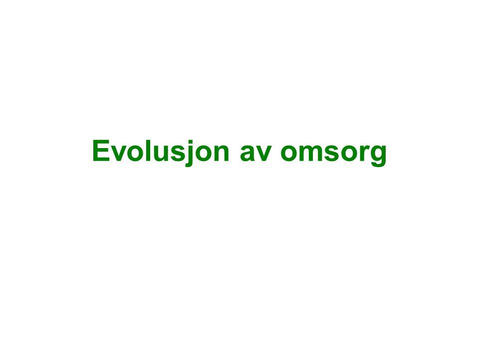 Evolusjon av omsorg