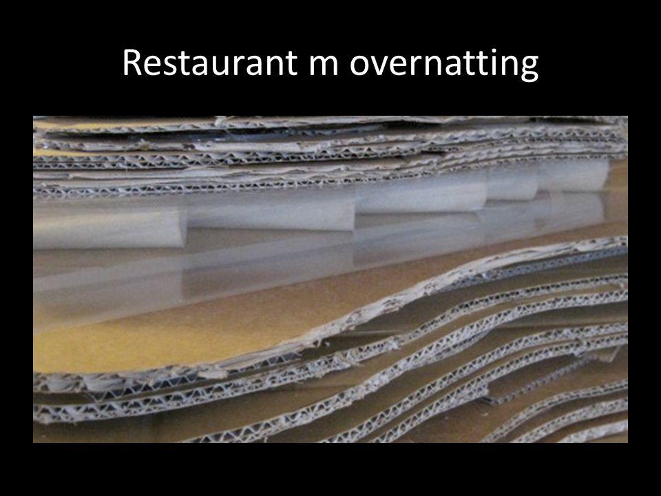 Restaurant m overnatting