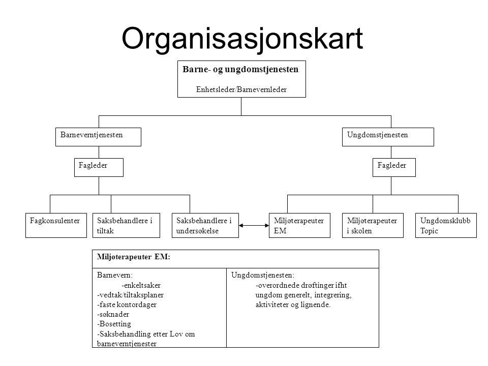 Undersøkelsesteamet Maria Forsmo Hanne Jørgensen Fredrik Silvik Raina Koskinen Cecilie Røsdal Nina Tangstad = 6 stykker