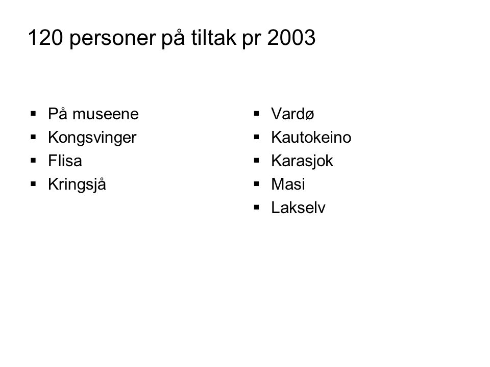 Fotoprosjekter  Tromsø museum, avd.