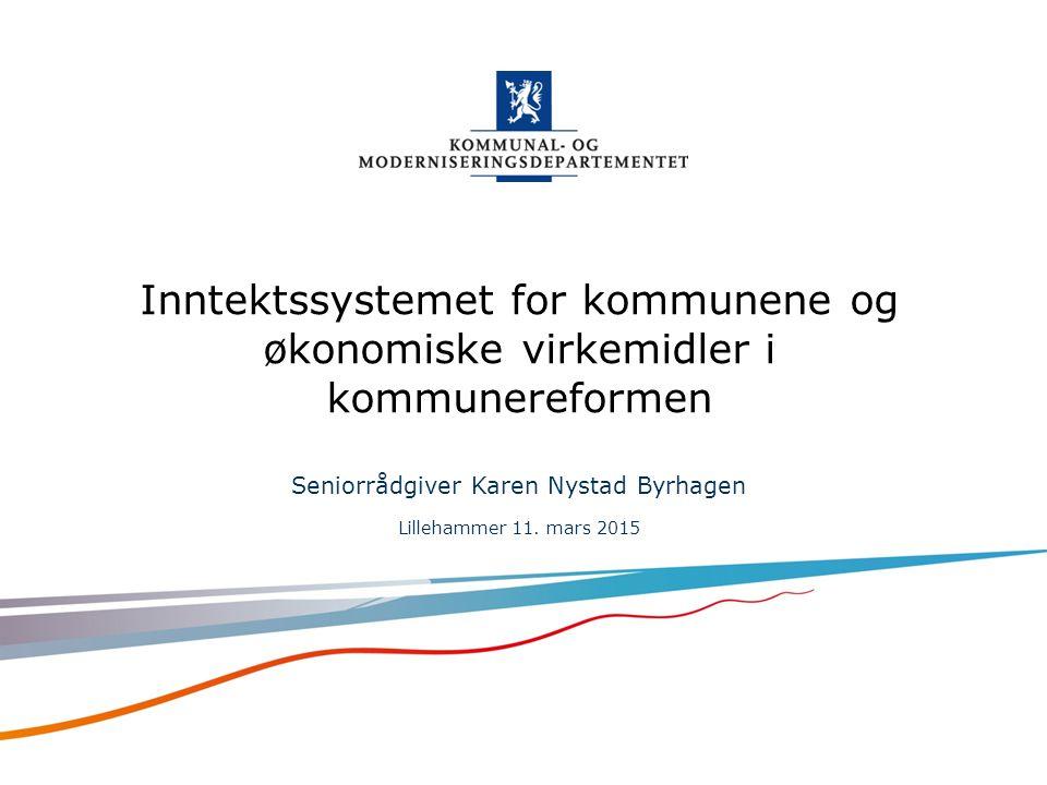 Norsk mal: Startside alt. 2 For engelsk mal Velg KMDmal – engelsk under oppsett .