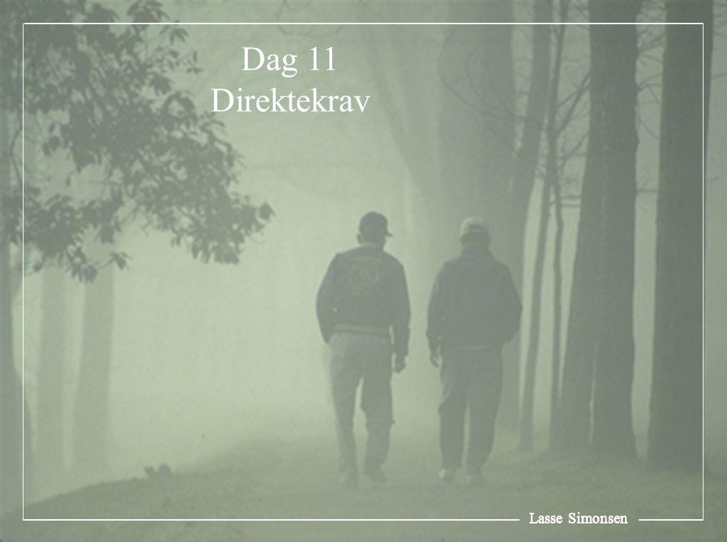 Lasse Simonsen Dag 11 Direktekrav Lasse Simonsen