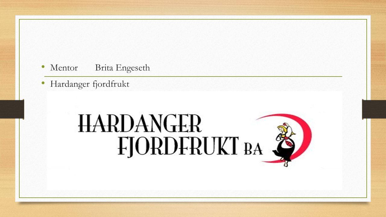 Mentor Brita Engeseth Hardanger fjordfrukt