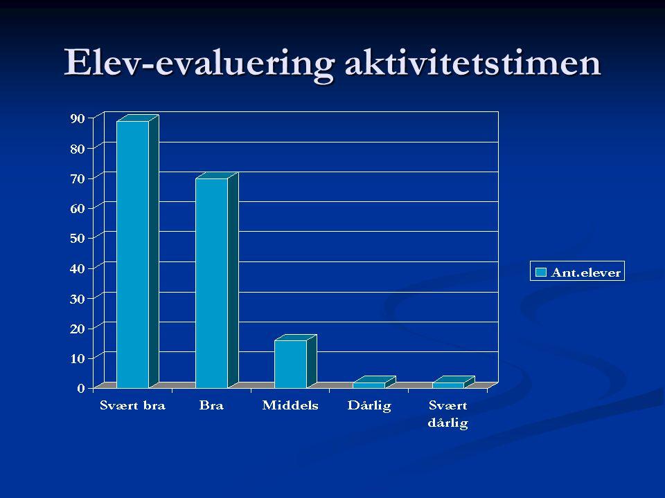 Elev-evaluering aktivitetstimen