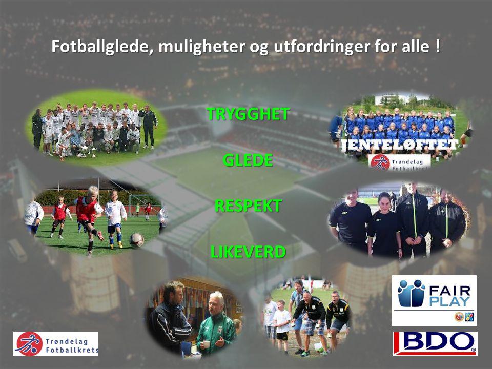 Målsettinger - Spillerutvikling Gjennom en systematisk tilrettelegging, påvirkning og oppfølging sørge for at de beste spillerne i alderen 13- 16 år får en optimal trenings- og kamphverdag mtp.
