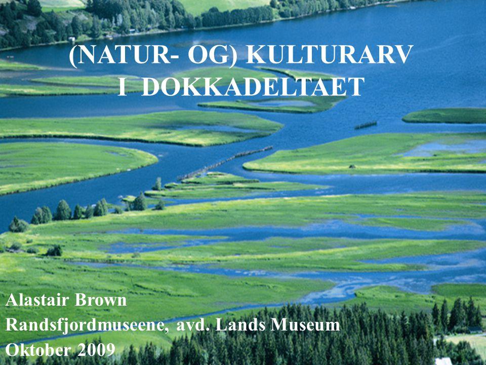 (NATUR- OG) KULTURARV I DOKKADELTAET Alastair Brown Randsfjordmuseene, avd.