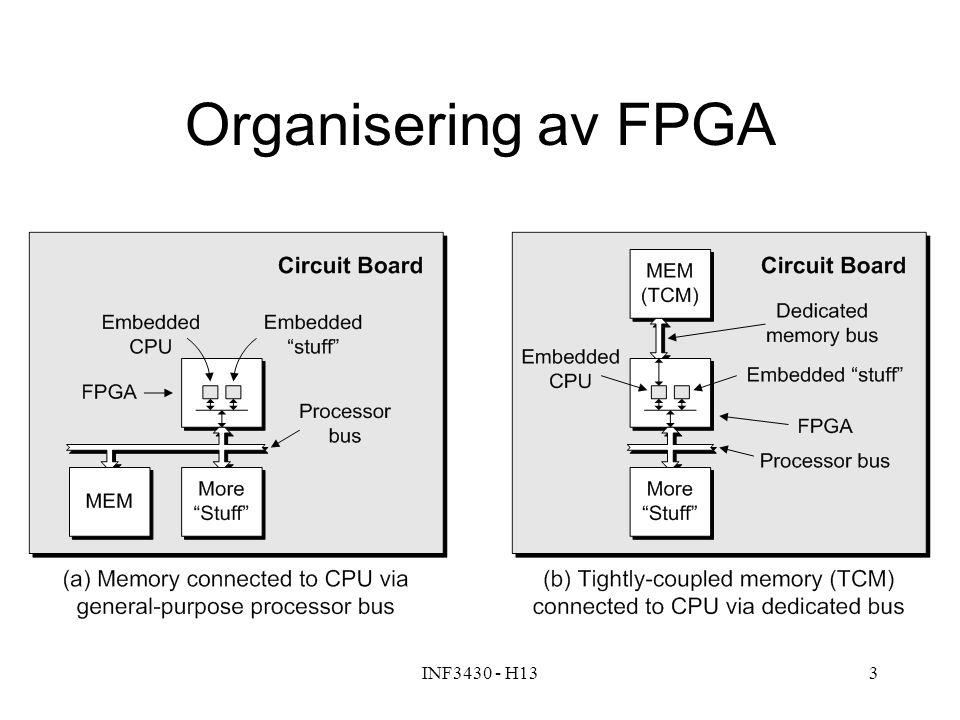 INF3430 - H1314 Design med prosessor på FPGA