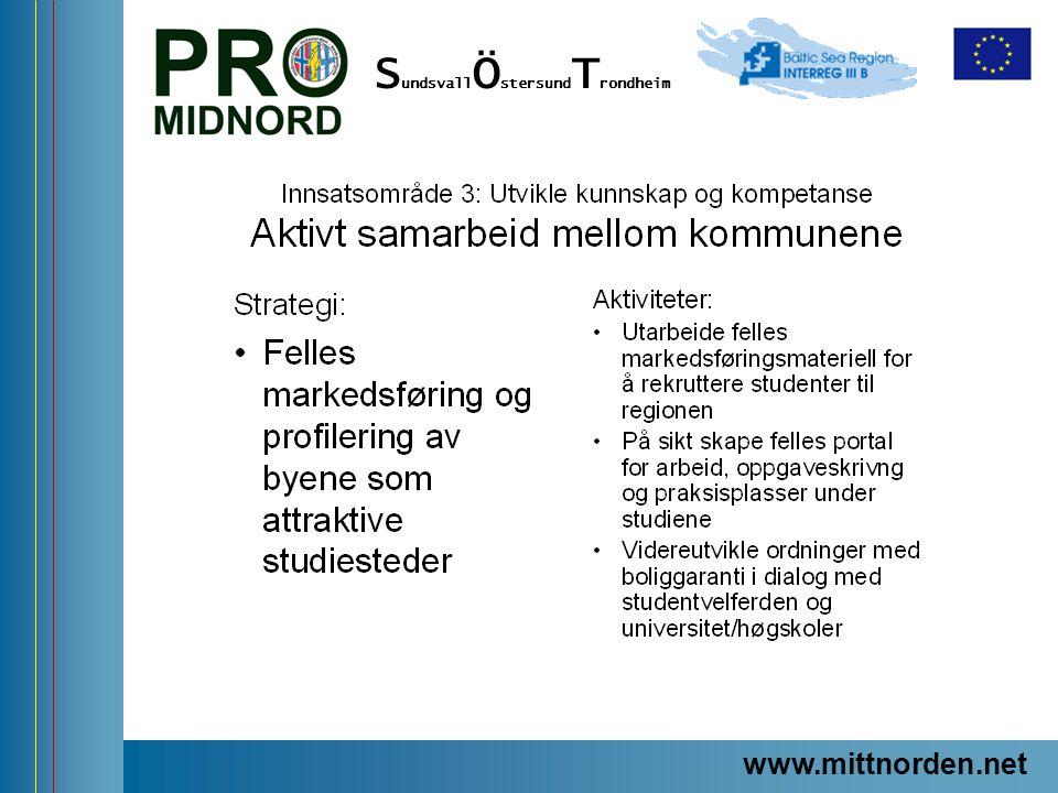 www.mittnorden.net S undsvall Ö stersund T rondheim