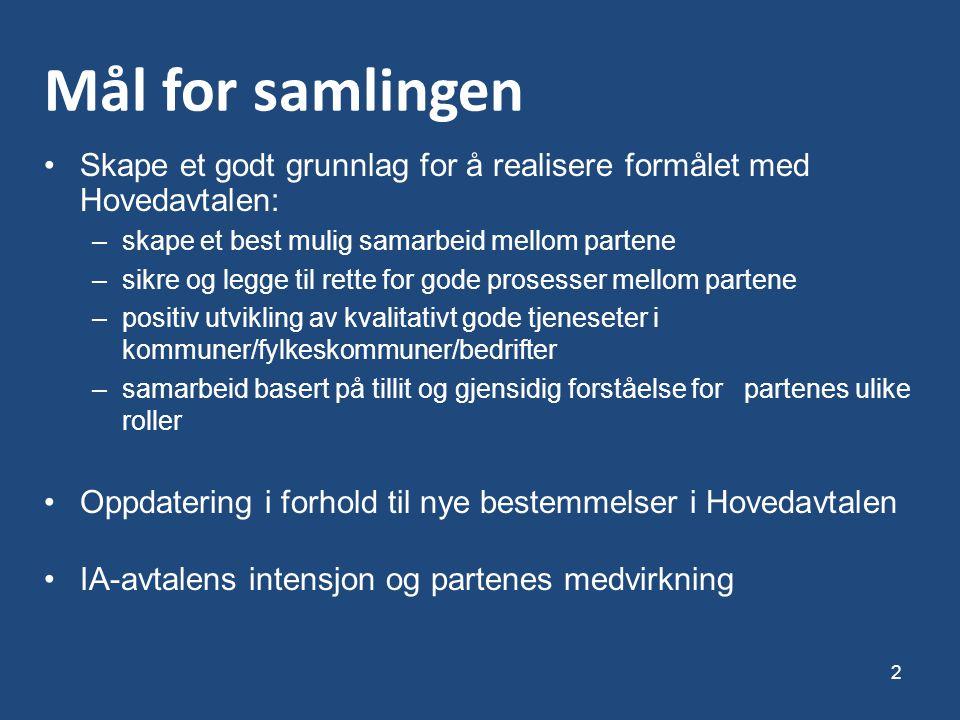 Leder + tillitsvalgte = sant Strategi Styring/ Vaktbikkje Partsforhold, Lover og avtaler Utvikling Fag/organisasjon Medarbeidere Medlemmer