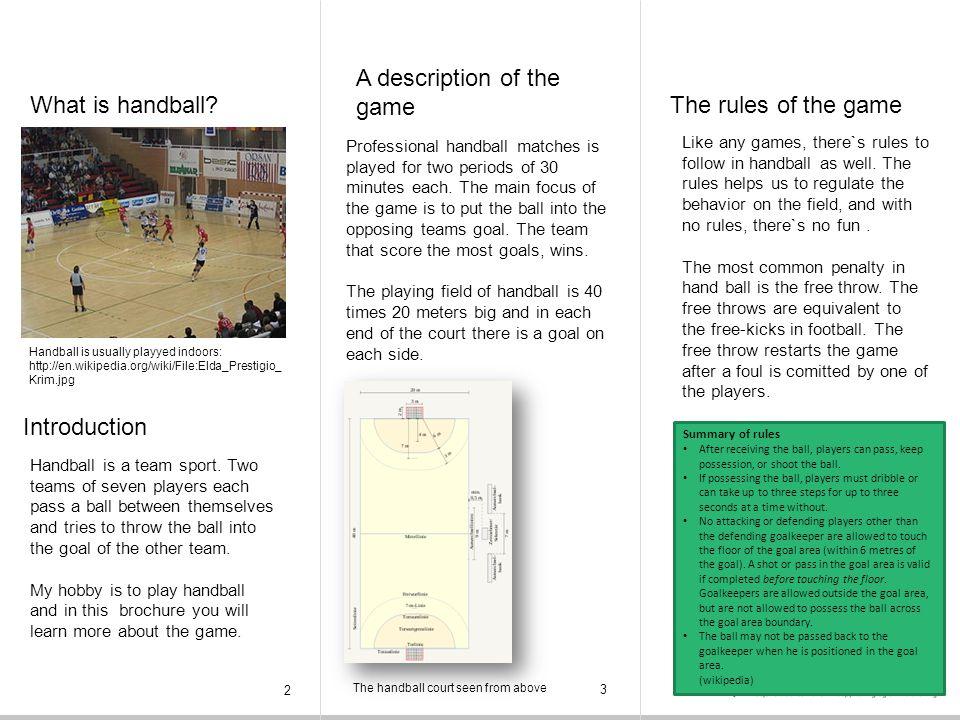 What is handball.
