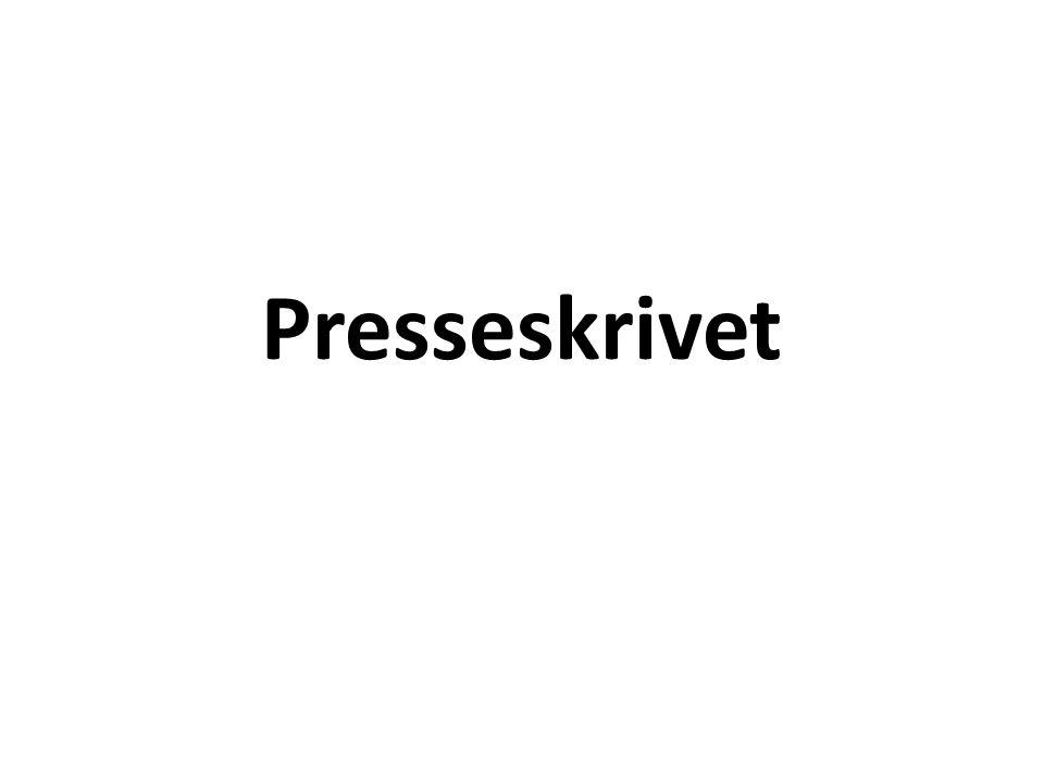 Presseskrivet