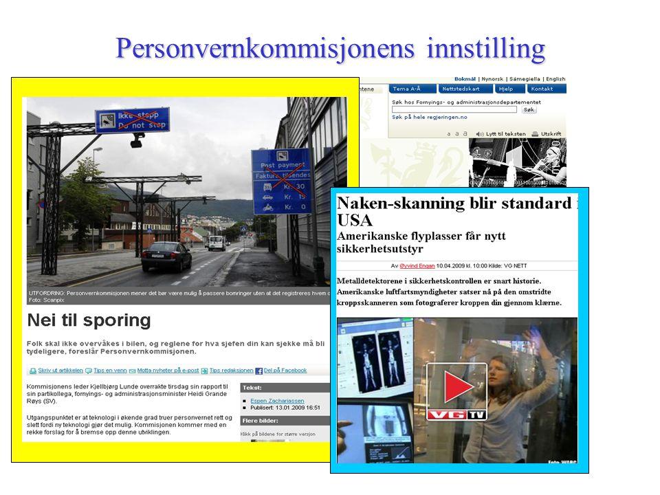 Personvern som del av IKT-politikken