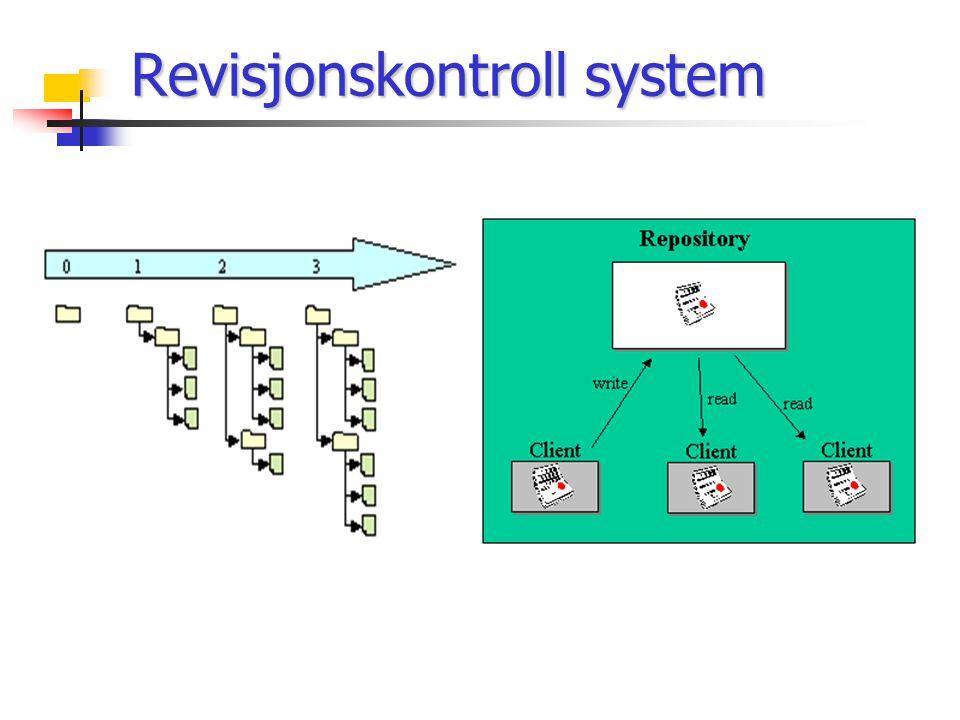 Revisjonskontroll system