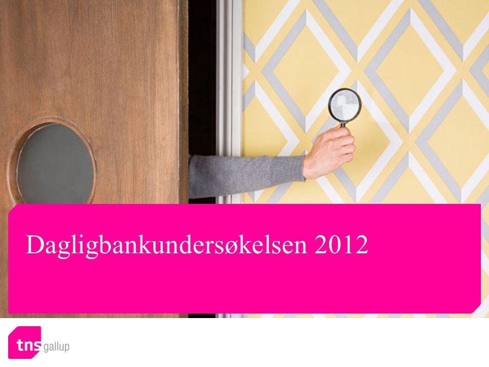 Dagligbankundersøkelsen 2012