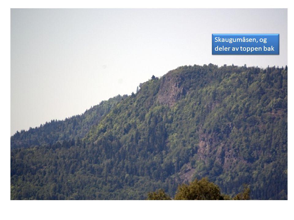 Viser at bildet er tatt på havnivå.Hva er fjellet bak.
