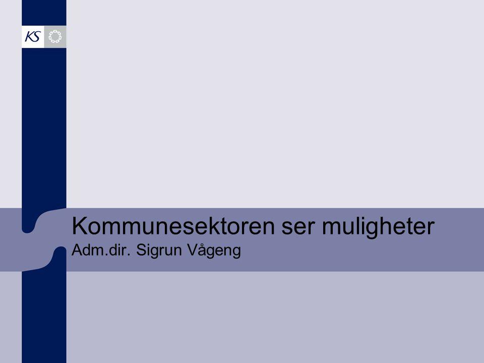 19 fylkeskommuner 430 kommuner 500 bedrifter 400 000 ansatte 12 000 politikere 333 milliarder kroner Kartgrunnlag Copyright © Statens kartverk, Norsk Eiendomsinf.