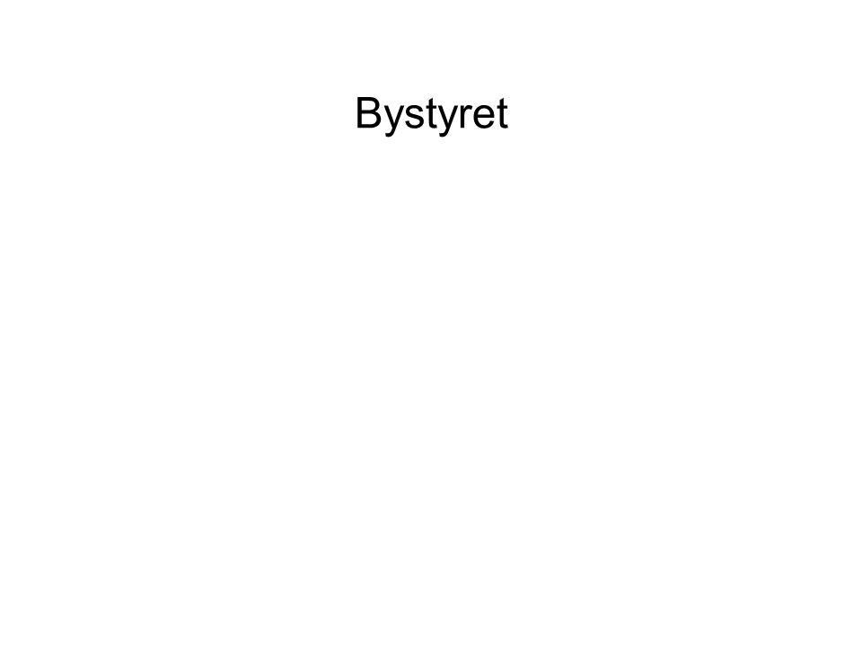 Org. kart Byrådet og bystyret http://agora.oslo.kommune.no