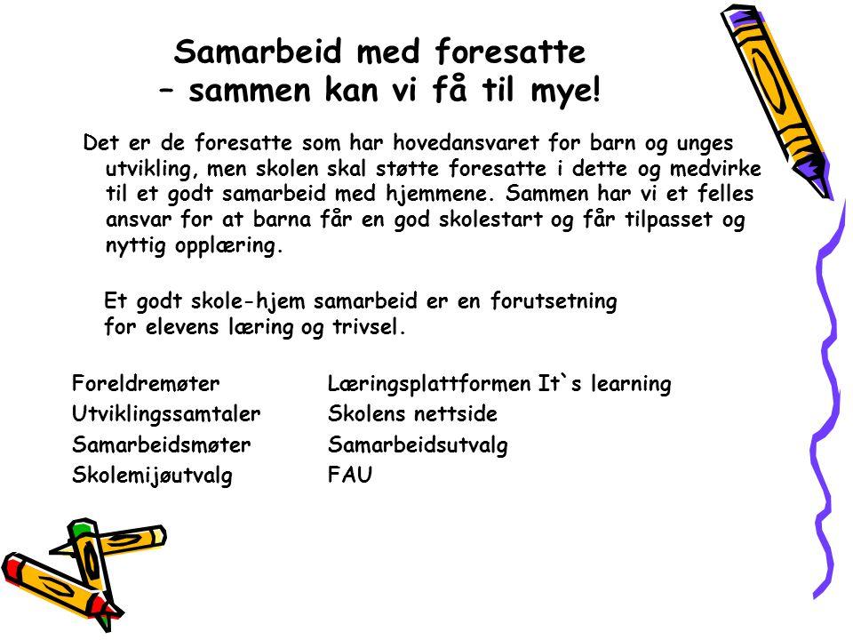 Velkommen til en trygg og god skolestart på Hordvik skole.