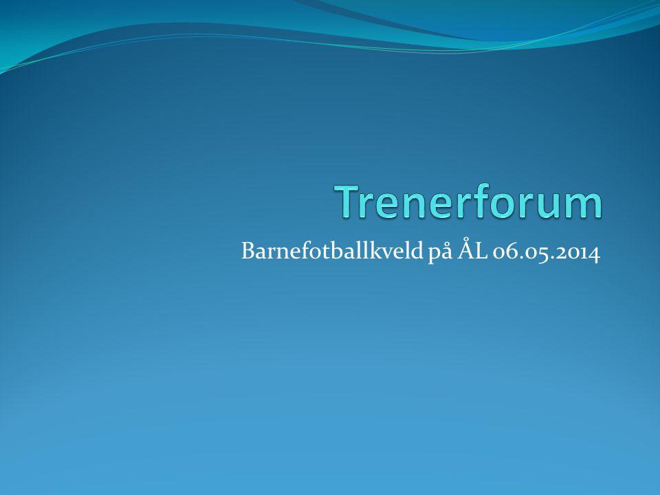 Barnefotballkveld på ÅL 06.05.2014