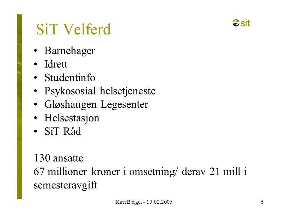 Kari Berget - 10.02.200617 Kurs Ta ordet ! Samliv Økonomi Student-jus Rus (virkning/bivirkning)
