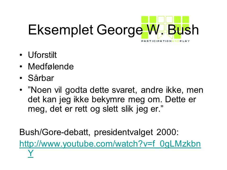 Eksemplet George W.