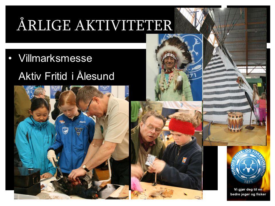 ÅRLIGE AKTIVITETER Villmarksmesse Aktiv Fritid i Ålesund