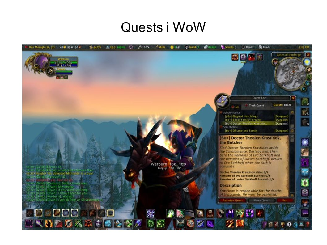Quests i WoW