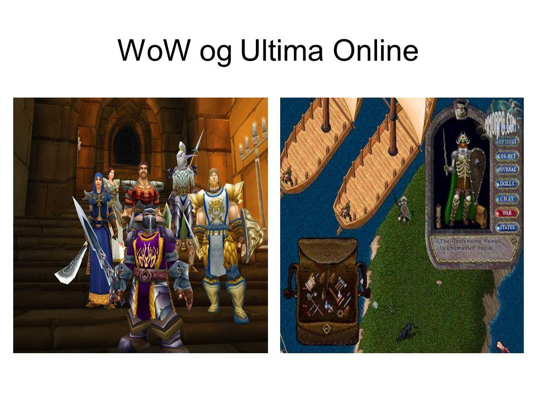 WoW og Ultima Online