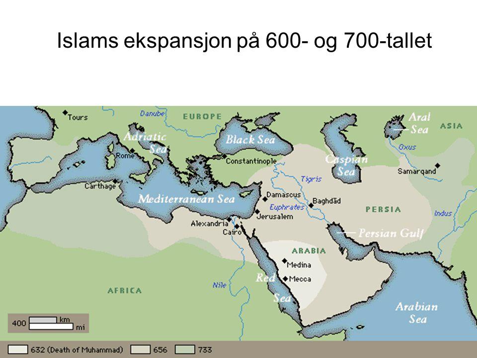Islams ekspansjon på 600- og 700-tallet