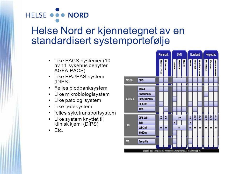 Elektronisk samhandling i behandlingskjeden – ledende i Norge.