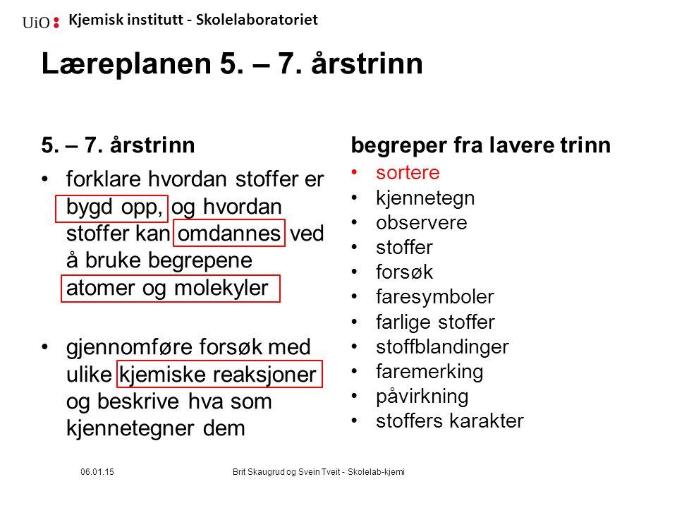 Kjemisk institutt - Skolelaboratoriet Forsøk: Sortering, del 1 Dere har 6 rør med «noe» i.