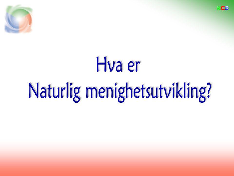 Prinsipper for kirkevekst Utgangspunkt i Tyskland med Natural Church Development I Norge: K-vekst www.k-vekst.no Molde menighet har benyttet NaMu aktivt siden 2008.