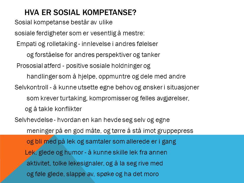 HER FINNER DERE ARTIKLER OG FILMER http://www.regjeringen.no/upload/KD/Vedlegg/Barnehager/mobbing_skjerm_bokm.