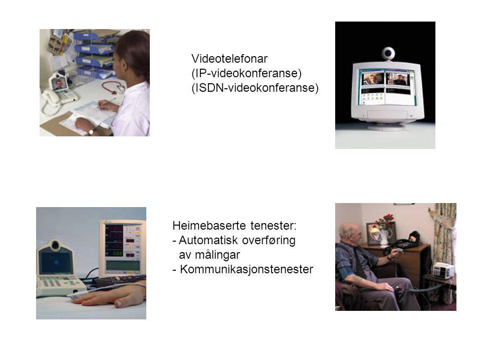 Utstyr for bruk i undersøkelsesrom eller operasjonsstuer (videokonferanse):